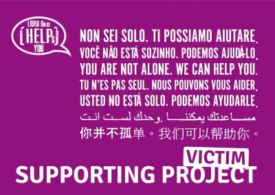 VIS|UNA RETE PER SUPPORTARE LE VITTIME DI REATO