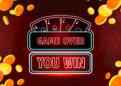 GAME OVER – YOU WIN